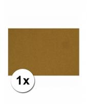 Bruin knutsel karton a4