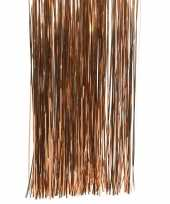 Bruine kerstversiering slinger