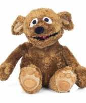 Bruine tommy hond knuffel sesamstraat 38 cm