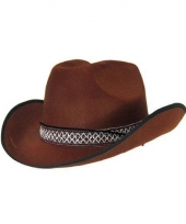 Bruinte cowboy hoed dallas