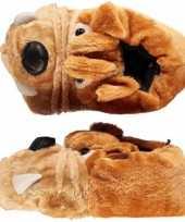 Bulldog sloffen voor kinderen