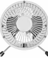 Bureau ventilator wit 15 cm