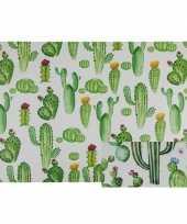 Cactus placemats 44 cm type 2