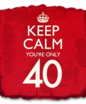 Cadeau ballon keep calm your 40