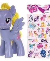 Cadeau my little pony speelgoed paardje lily blossom met stickertjes
