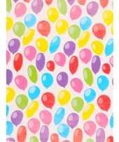 Cadeaupapier ballonnen 70 x 200 cm