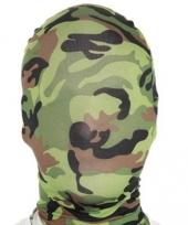 Camouflage masker van morphsuit