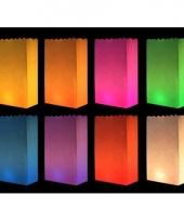 Candle bags set gekleurd 10 stuks