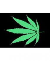 Cannabis logo vlag 150 x 90 cm