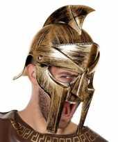 Carnaval accessoire romeinse helm voor heren 10132611