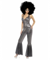 Carnaval disco catsuit dames