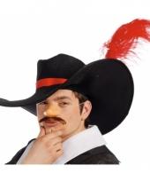 Carnaval hoed musketier