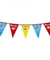 Carnaval versiering vlaggenlijn