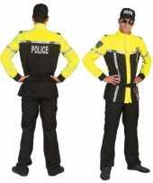 Carnavals politiepak voor heren