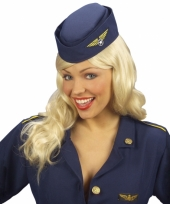 Carnavals stewardessen pet 10039132