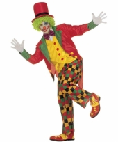 Carnavalskleding clown pak