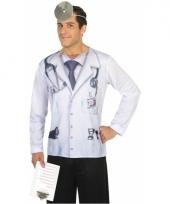 Carnavalskleding dokter shirt