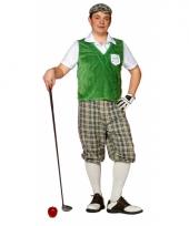Carnavalskleding golf speler