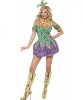 Carnavalskleding harlekijn voor dames