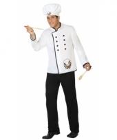 Carnavalskleding kok voor mannen