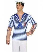 Carnavalskleding matrozen shirt