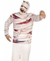 Carnavalskleding mummie shirt