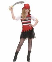 Carnavalskleding piratenpak meiden