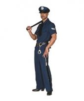 Carnavalskleding politie pak big size