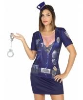 Carnavalskleding politie shirt 10078281