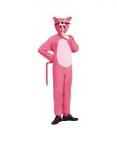 Carnavalskleding roze panter outfit