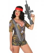 Carnavalskleding soldaten shirt 10078280