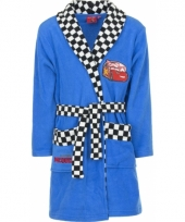 Cars fleece badjas blauw