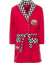Cars fleece badjas rood