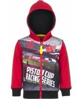 Cars kleding jongens vest rood