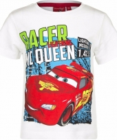 Cars shirt lightning mcqueen wit