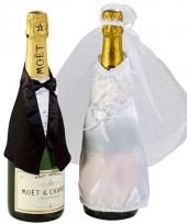 Champagne fles decoratie
