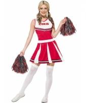 Cheerleader jurk met pompons