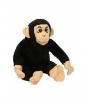 Chimpansee knuffeltje 14 cm
