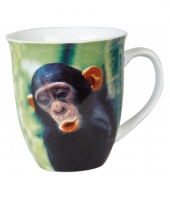 Chimpansee thee mok