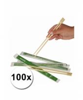 Chinese eetstokjes 100x 2 stuks