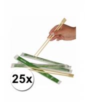 Chinese eetstokjes 25x 2 stuks