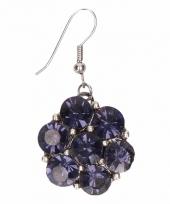 Chunkoorbellen blauwe steentjes voor volwassenen