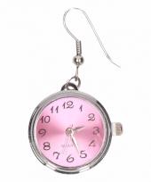 Chunkoorbellen roze klok voor volwassenen