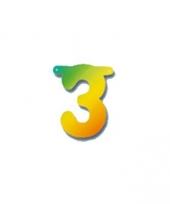 Cijferslinger cijfer 3