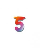 Cijferslinger cijfer 5