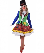 Clown pipo kostuum voor dames