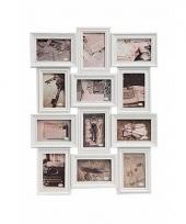Collage wissellijst romantisch wit 52 x 68 cm