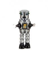 Collectors item robot grijs 22 cm