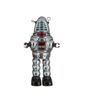 Collectors item robot grijs 23 cm