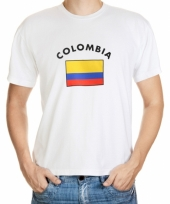 Colombia vlaggen t-shirts